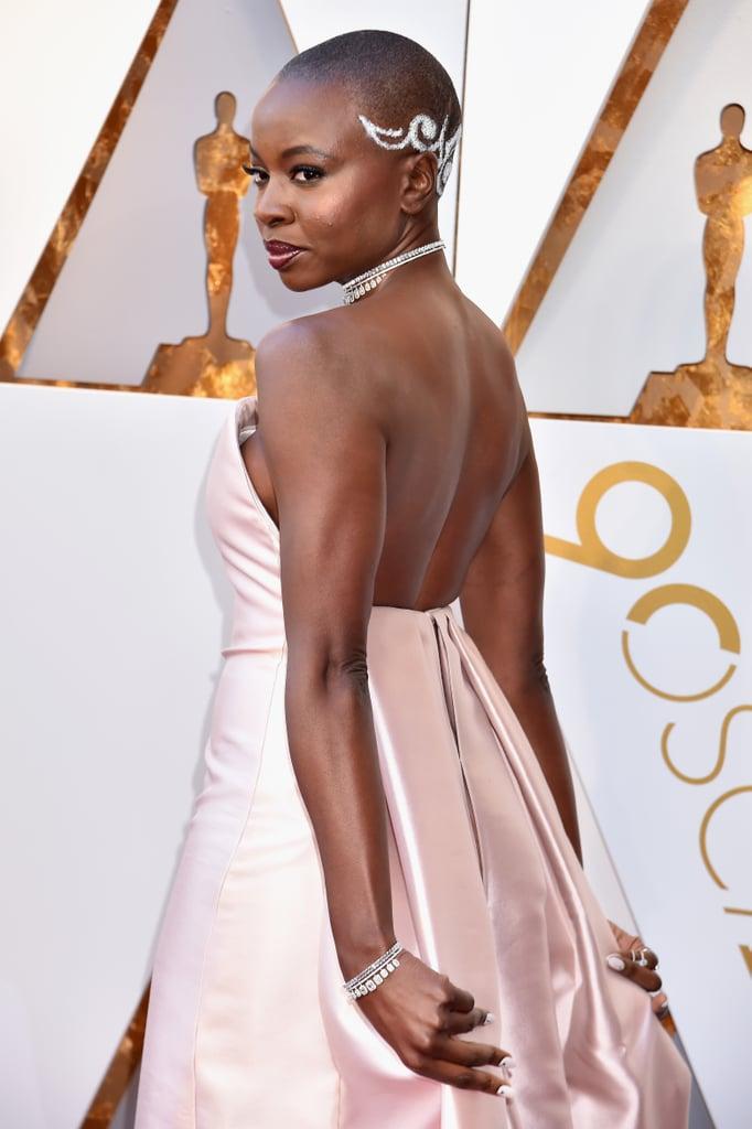 Danai Gurira at the Oscars