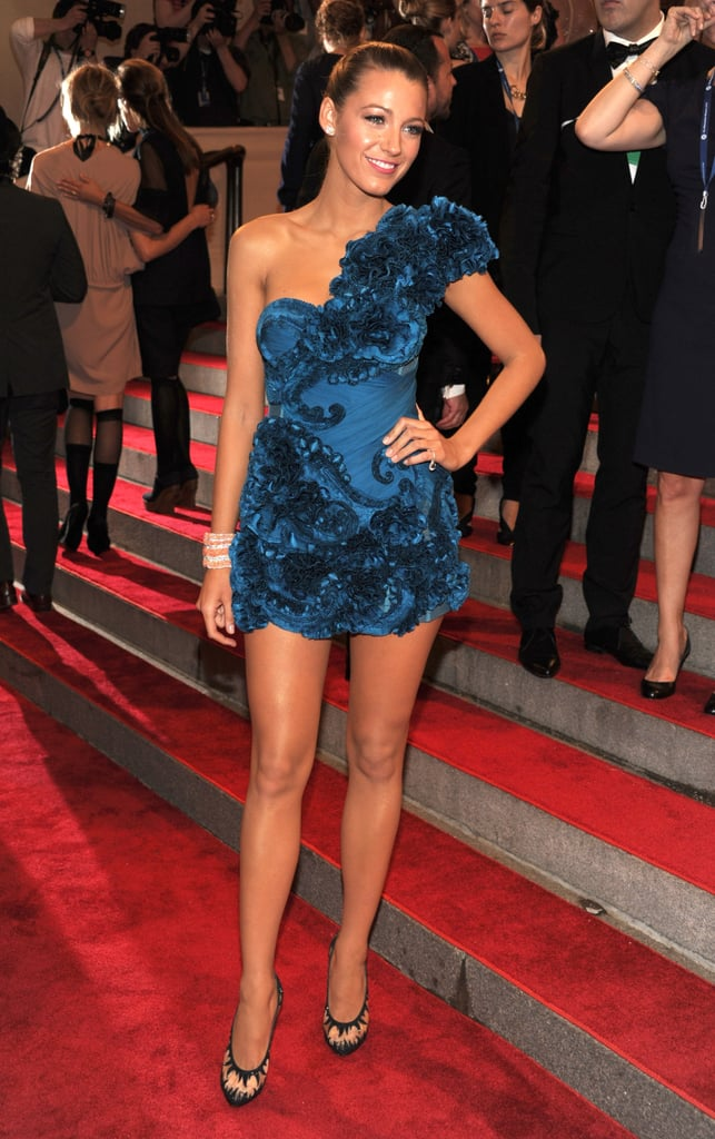 When She Had the Blues at the 2009 Met Gala