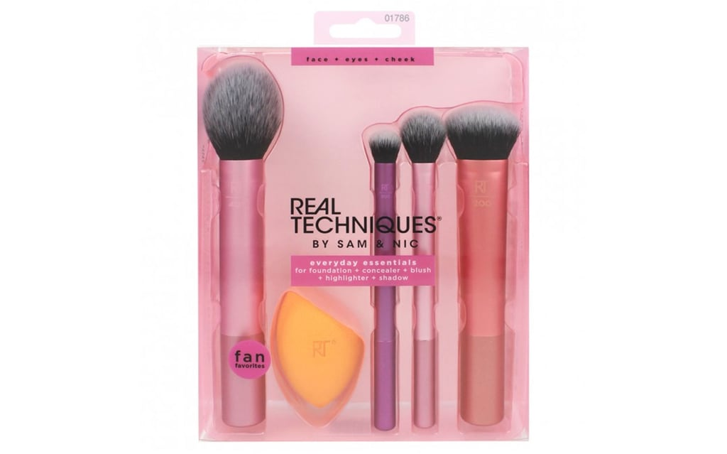 Real Techniques Everyday Essentials Set 5 Piece ($34.99, previously $49.99).