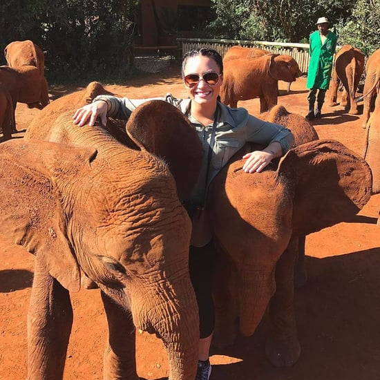 Demi Lovato's Trip to Kenya January 2017