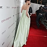 Keira's Erdem gown floated beautifully down the red carpet.