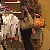 Jessica Alba Goes Wild as She Shops on Robertson Boulevard