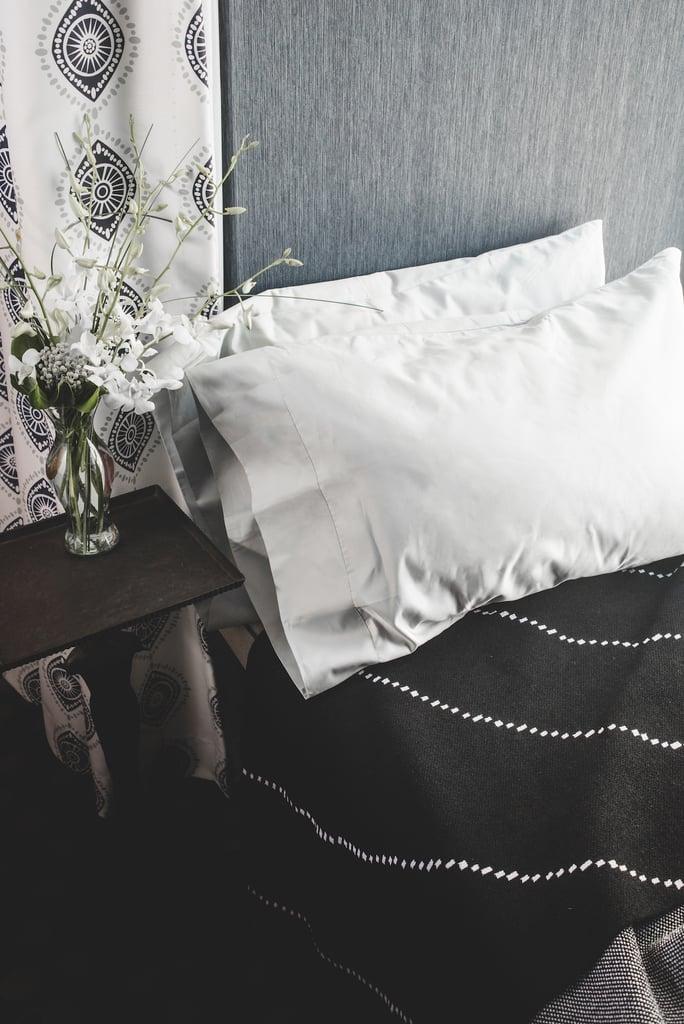 Use a silk (or silk-blend) pillowcase