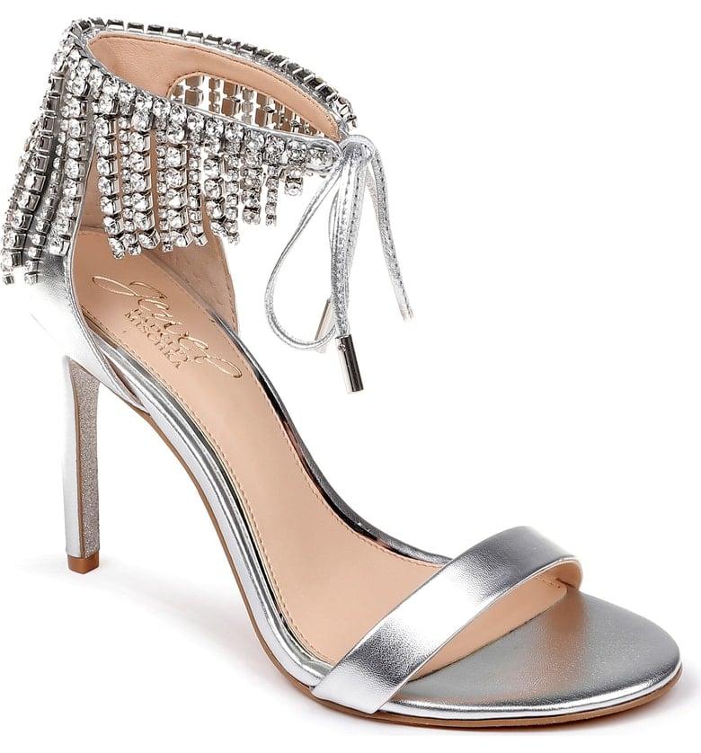 Jewel Badgley Mischka Darielle Ankle-Strap Sandal