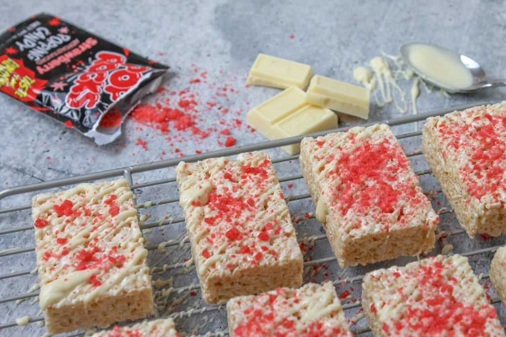 Experience the feeling of Pop Rocks in your mouth.
