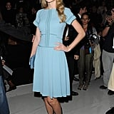 Taylor Swift at the Elie Saab Fashion Show