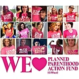 Lena Dunham's Planned Parenthood T-Shirts and Video