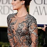 Lea Michele on the red carpet.