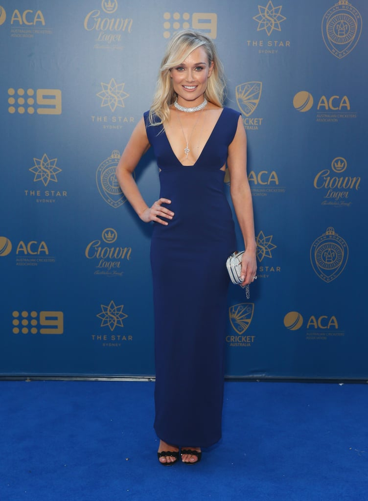 Allan Bolder Medal WAGs Red Carpet Dresses 2017