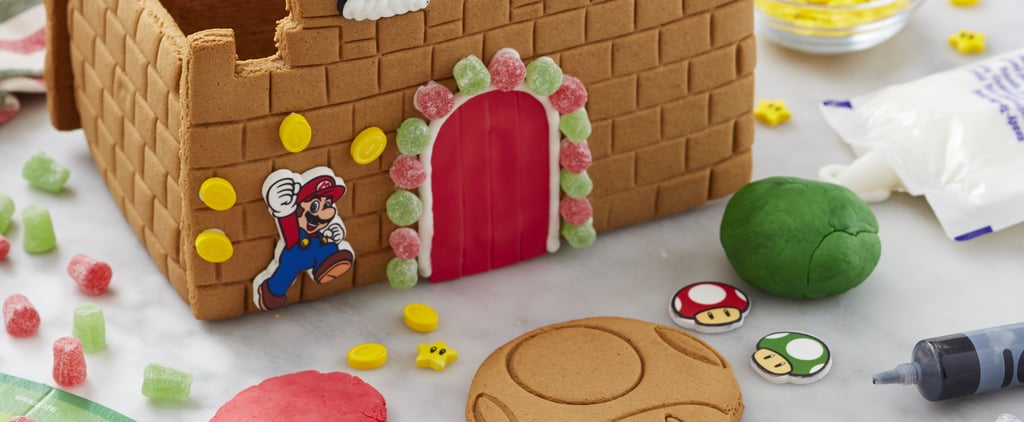 Shop the Nintendo Super Mario Gingerbread Cookie Castle Kit