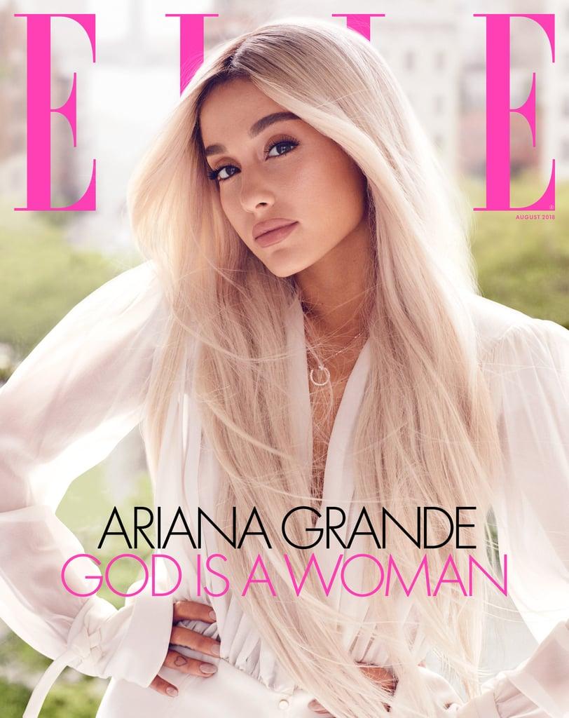 Ariana Grande Elle August 2018