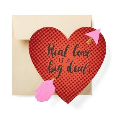 Real Love Is a Big Deal Card