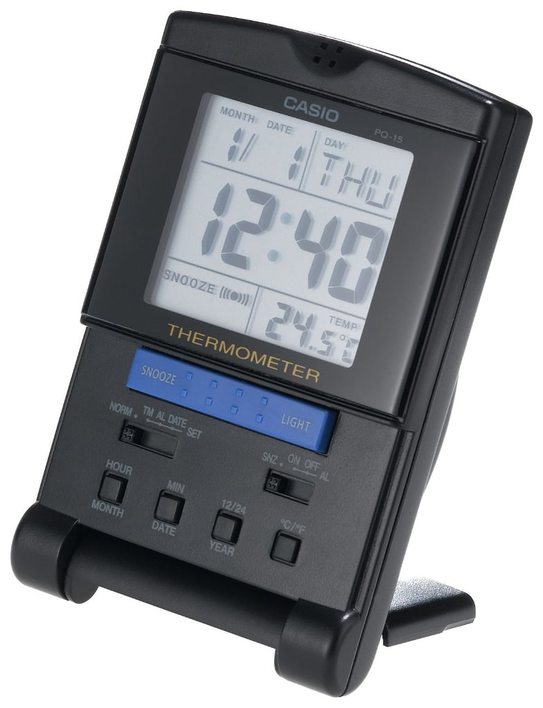 Casio PQ15-1K Travel Alarm Clock ($16)