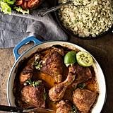 Pollo a la Brasa With Garlic Butter Rice