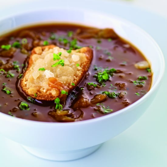 Caramelized Onion Soup With Parmesan Toast
