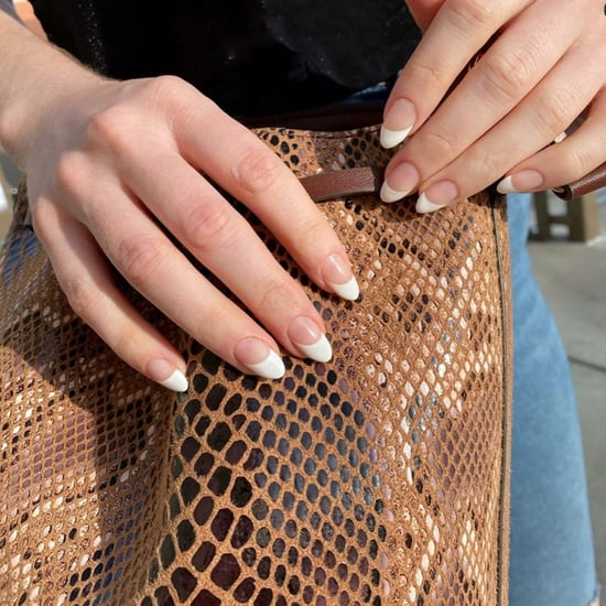 Nail Art Trend 2020: Slanted French Manicure