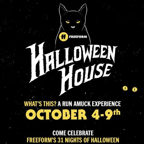 Freeform Halloween House 2018