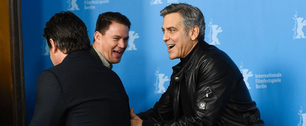 Channing Tatum and George Clooney Have a Red Carpet Bromance in Berlin
