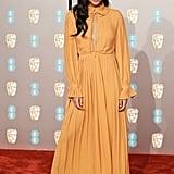 Laura Harrier at the 2019 BAFTA Awards