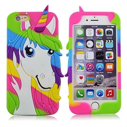 Silicone Unicorn iPhone Case