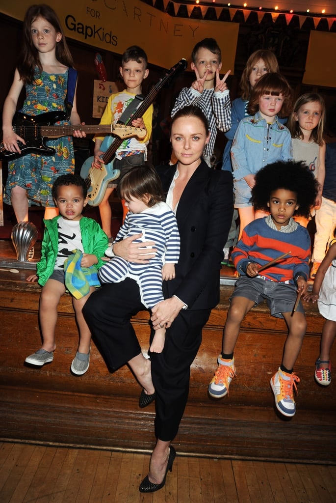 Photos from Stella McCartney for Gap Kids Launch