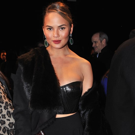 Chrissy Teigen Fashion Week Interview Fall 2014