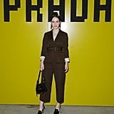 Rachel Brosnahan at Prada Fall 2019