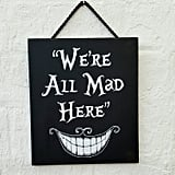 Alice in Wonderland Hanging Wall Art