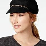 August Hats Chain-Link Newsboy Cap