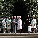 Princess Diana's Family at Prince Harry and Meghan's Wedding