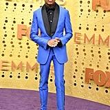 Asante Blackk at the 2019 Emmys