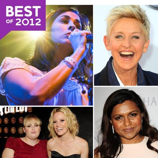 Celebrity Women on Twitter 2012