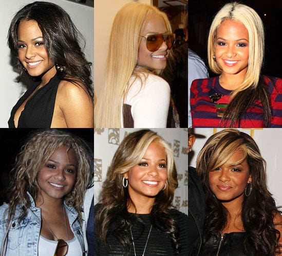 Pictures of Christina Milian's Hair
