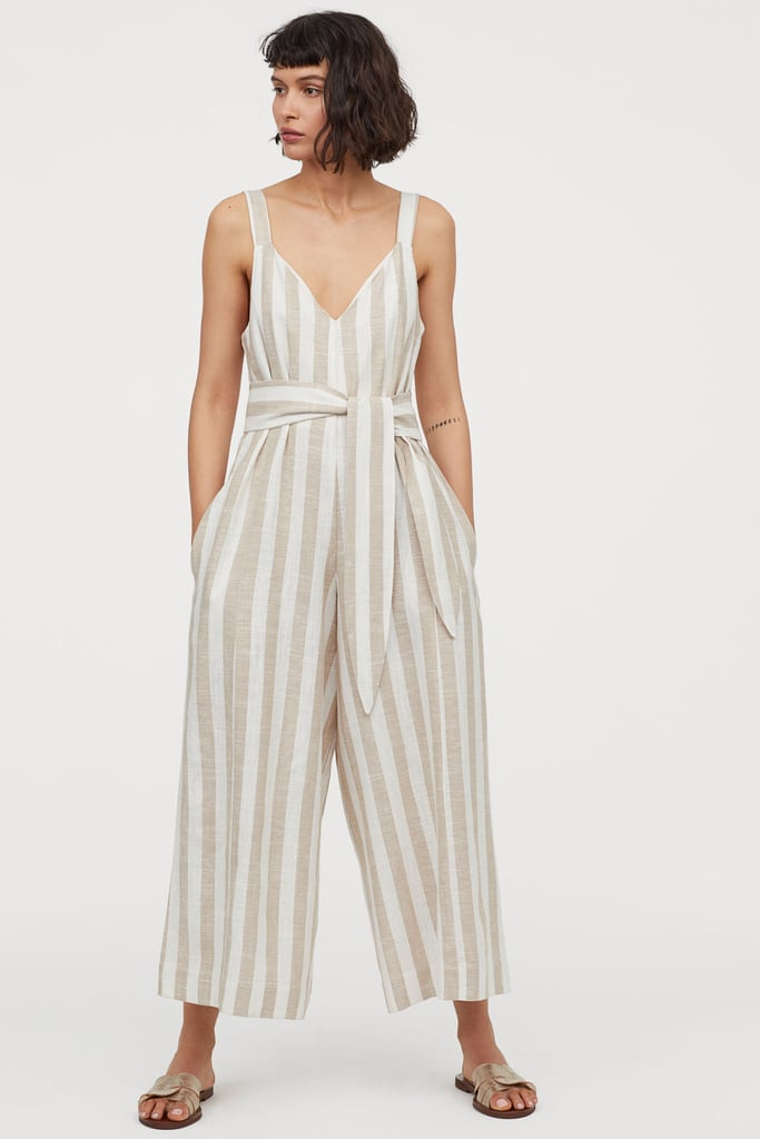 cheapest various design various styles H&M Linen-blend Jumpsuit | H&M Mommy and Me Summer 2019 ...