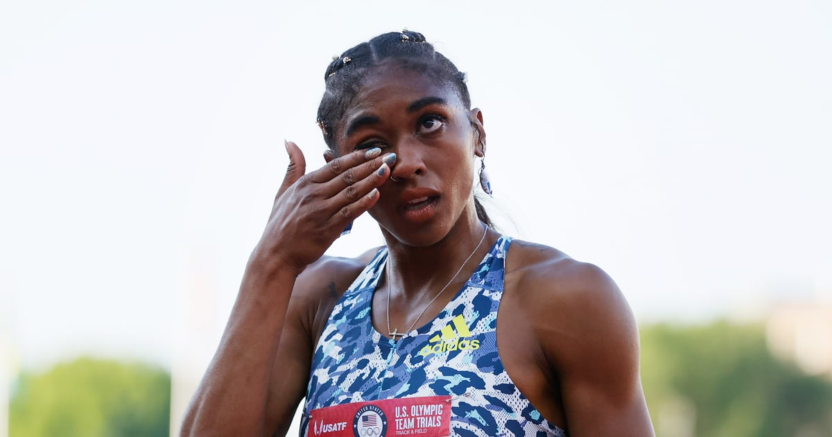 Christina Clemons Qualifying For the Olympics While Wearing Doritos Earrings Is Simply Iconic