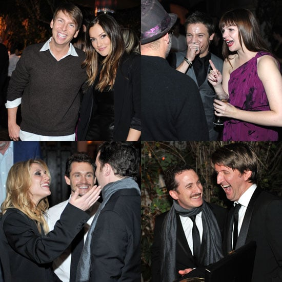 Pictures of Jeremy Renner, Minka Kelly, Darren Aronofsky at EW Pre-SAGs Party 2011-01-30 14:58:27