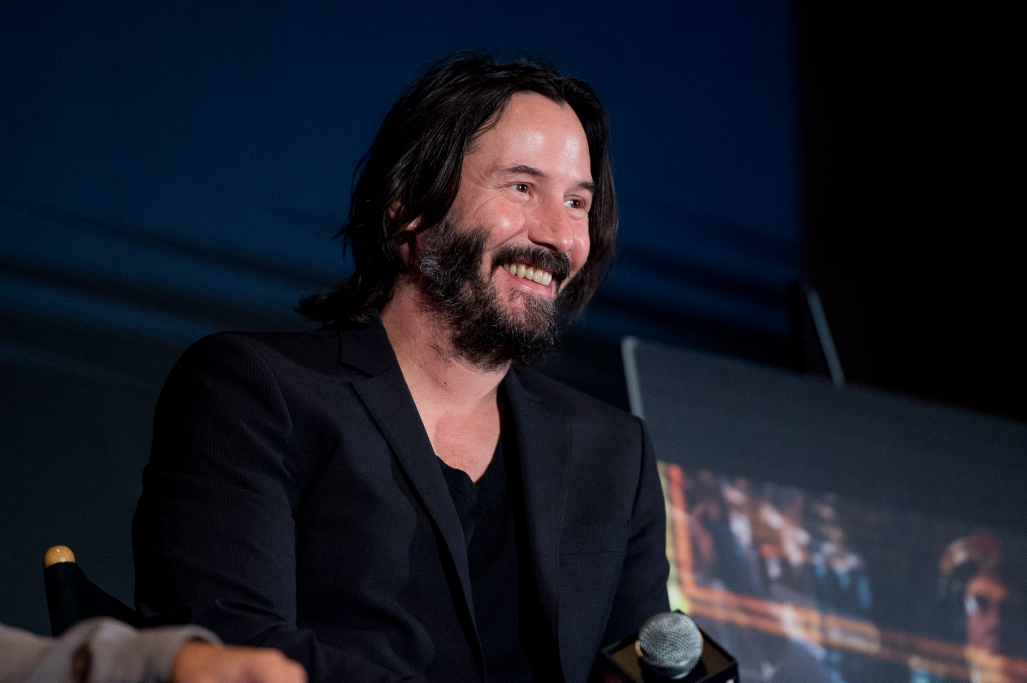 NEW YORK, NY - OCTOBER 05:  Keanu Reeves discusses