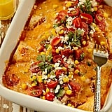 Flatbread Ham and Cheese Brazilian Enchilada Casserole