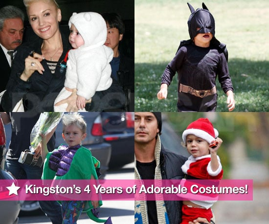 Pictures of Kingston Rossdale in Costume on his 4th Birthday