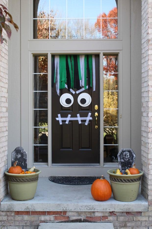 How To Decorate Front Door For Halloween