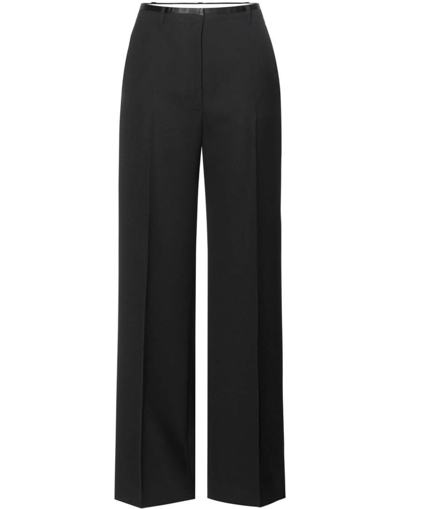 Acne Studios Wool wide-leg trousers