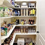 Place Pantry Goods in Canisters, Bins, and Baskets