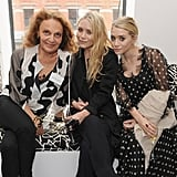 Mary Kate And Ashley Olsen Pictures At The Cfda Members
