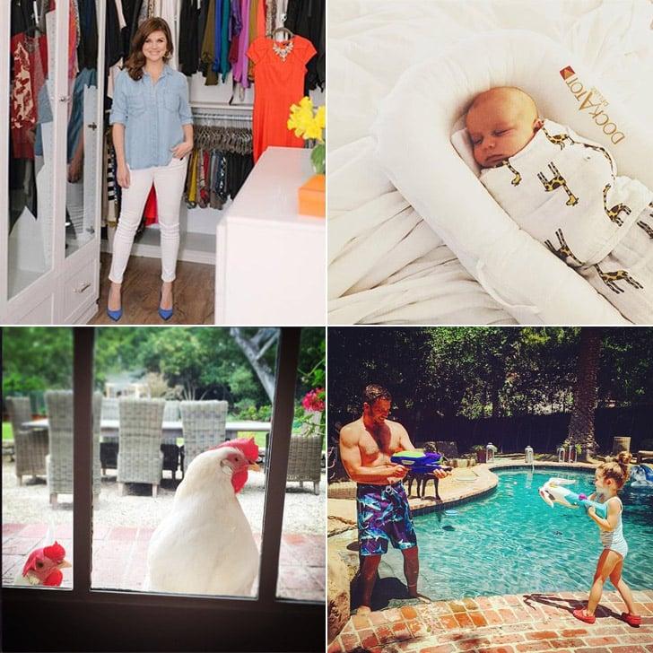 Tiffani Thiessen's Family at Home