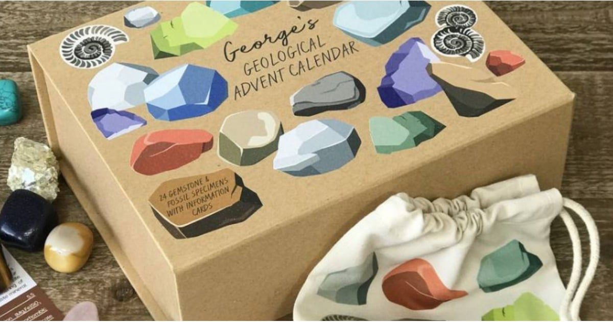 Spiritualists and Geologists Alike Will Be Enchanted by This Gemstone Advent Calendar
