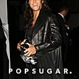 Michelle Rodriguez wore an all-black ensemble to the Chateau Marmont in LA on Saturday.