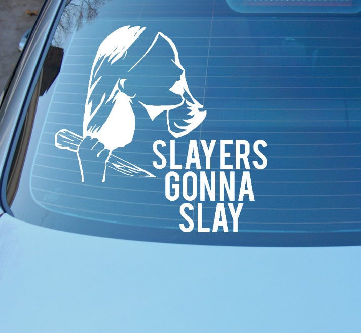 Slayers Gonna Slay Car Decal ($6-$10)