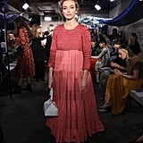 Jodie Comer at London Fashion Week