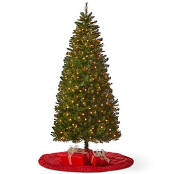 National Tree Co. 4 Foot Tinsel Pre-Lit Christmas Tree