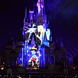 "Mickey's Very Merry Christmas Party — ""Once Upon a Time"" Castle Projection Show"